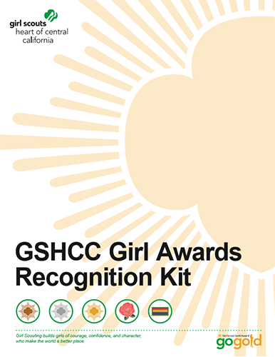 GSHCC Girl Awards Recognition Kit